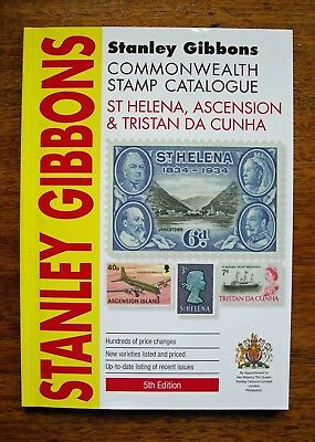 SG Commonwealth Stamp Catalogue for St Helena, Ascension & Tristan da Cunha