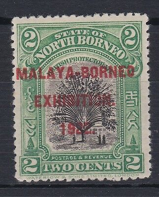 NORTH BORNEO 1922 MBE STOP AFTER EXHIBITION CLEAN M,MINT CAT £42 SG 255a