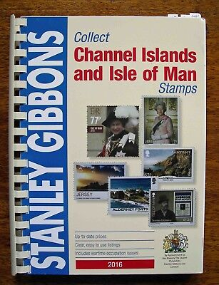 SG Collect Channel Islands and Isle of Man stamp catalogue - 2016 edition
