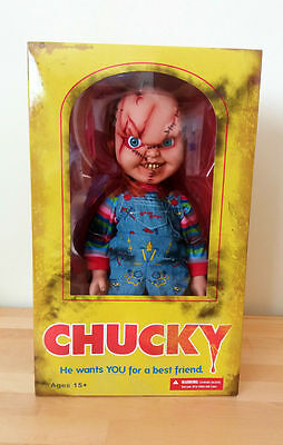 "Chucky Mezco 15"" Doll Horror Movies Toys"