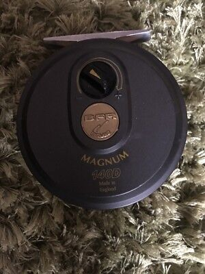 BFR. Magnum 140D Disc Drag Salmon/sea Trout Fly Reel Excellent Condition