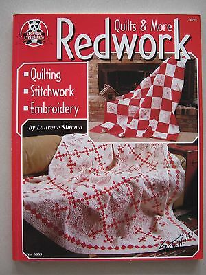 Redwork Quilts & More  : Quilting Stitchwork Embroidery by Suzanne McNeill,...