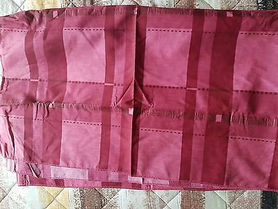 Set of 8 retro caravan awning curtains size 58in long x 33in wide