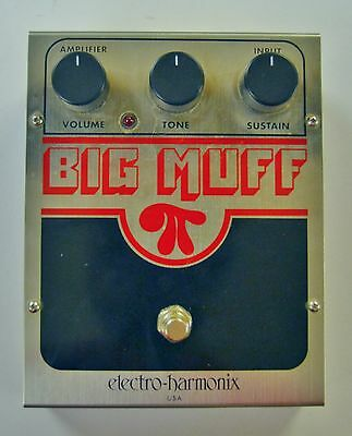 Ehx Big Muff Fuzz Pedal - Boxed, Manuals, Mint! Classic Fuzz / Distortion