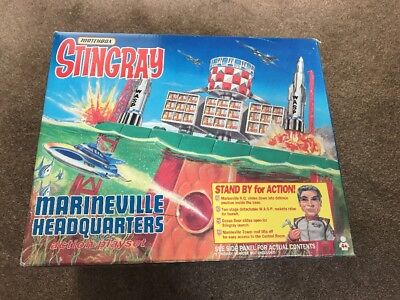 Matchbox Stingray Marineville HQ. Superb Set 100% complete. Never played with.