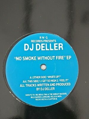 Dj Deller-No Smoke Without Fire Ep-R'n'g Records-Cat #rng003-1999