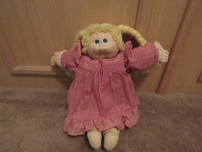 Little People Cabbage Patch Doll Soft Sculpture Doll Xavier Roberts 1978