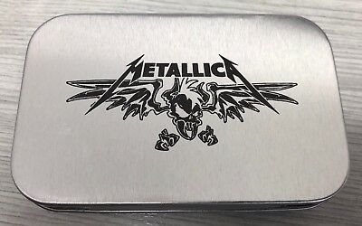Metallica Vulturus Metal Tin Box Limited Edition Metclub Exclusive