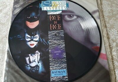 """Siouxsie & the Banshees FacetoFace  (Catatonic Mix) 12"""" picture disc 1992"""