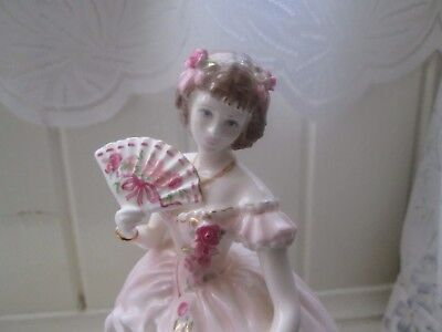"Coalport China figure ""The Champagne Waltz"" limited edition"
