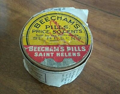 Beecham's pills sealed do not consume