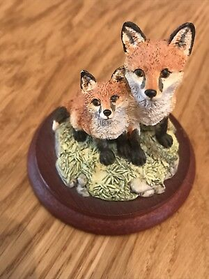 Border Fine Arts Foxes