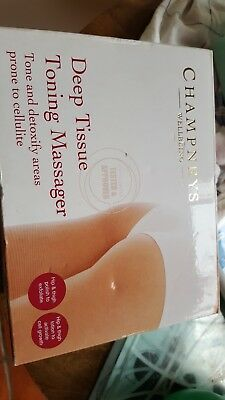Champneys Deep Tissue Toning Massager for cellulite