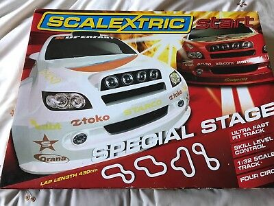 """Scalextric Start Set - """"special Stage"""""""