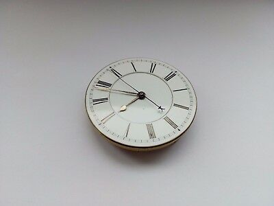Antique J.w.willis London Centre Seconds Chronograph Pocket Watch Movement Runs