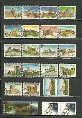 Portugal, o/used Lot ca. 1975 - 2005, 3 Scans !