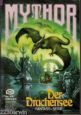 MYTHOR Fantasy Nr. 49 / (1980-1986 Pabel) / DER DRACHENSEE