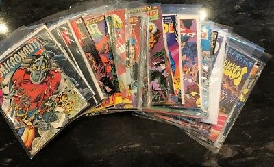 Mixed LOT OF 45 Marvel DC Image Comic Books 1980s-1990s Pre Owned Collection