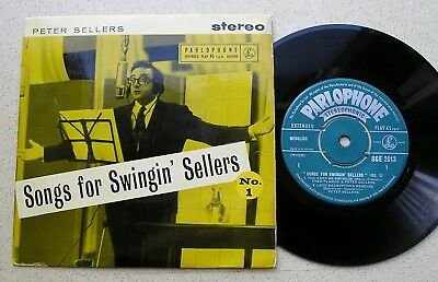 PETER SELLERS  - THREE EP's from 1959  - 'SONGS FOR SWINGIN' SELLERS Nos.1,2 &3'