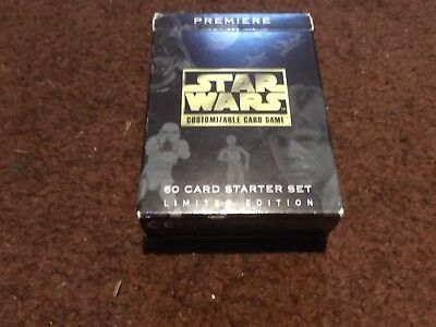 Star Wars CCG by decipher - limited starter deck