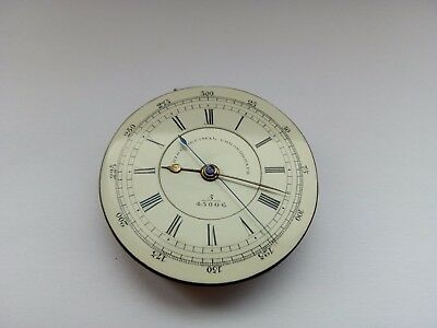 Antique William Chambers Centre Seconds Chronograph Pocket Watch Movement