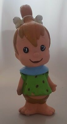 "VERY RARE HANNA BARBERA CANOVA SCREEN GEMS PEBBLES FLINTSTONE  - 10"" from 60's"