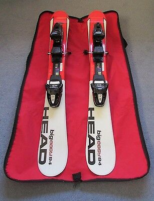 Head Big Easy 94 Ski Blades with Quick Release Bindings