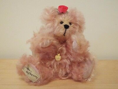 "6.5"" tall Limited Edition Dean's Rag Book Cider Apple Bear PINK LADY No 54/100"