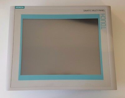 Siemens MP370 TOUCH-12 TFT.  6AV6 545-0DA10-0AX0, HMI,Operator Panel