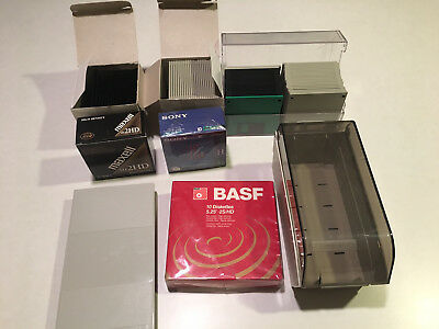 """Lot of 110 Unused 3.5"""" and 5.25"""" Floppy Disks"""