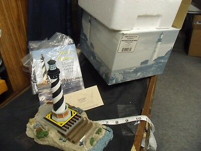 Hatteras On The Move  #632   Lighthouse Harbour Lights  Nib  Signed