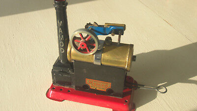 Vintage  Mamod Steam Engine Model Sp1 Static From 1979 - 1985