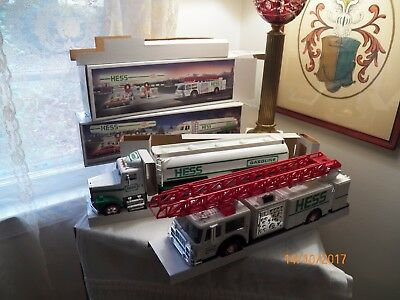 Hess Trucks Pair From 1989 and 1990 NEW IN BOXES