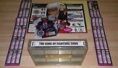 King Of Fighters 2000 (100% Original Snk Neo Geo Mvs Kit) Mint Hololabel Aes