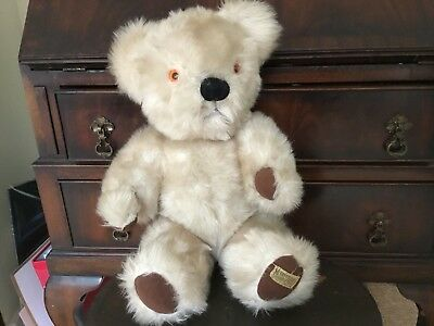 Gorgeous Vintage 1950's Merrythought Teddy Bear With Growler. Fab Condition