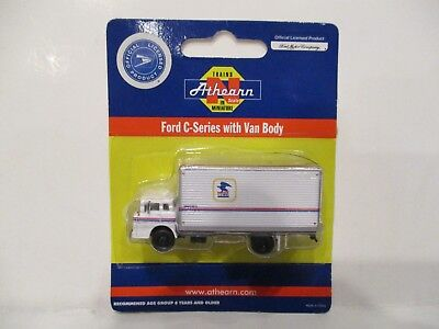 Athearn N Scale Ford C-Series Box Truck - Usps - New!