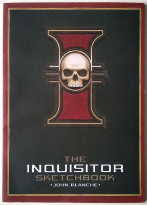 The Inquisitor Sketchbook by John Blanche