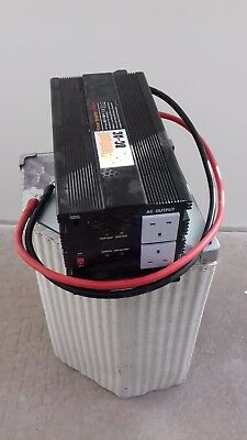2000W cont. 12vdc to 230vac Modified Sine Wave Power Inverter for car or caravan