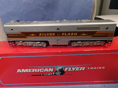 AMERICAN FLYER S GAUGE No.48127 SILVER FLASH PB NON-POWERED LOCOMOTIVE