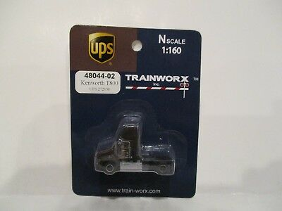 Trainworx N Scale - Kenworth T800 Tractor - Ups#272658 - New