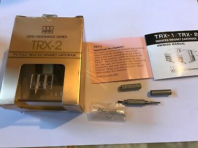 Adc Trx2 Trx 2 Mm Phono Cartridge Tonabnehmer Orig. Boxed Neu New