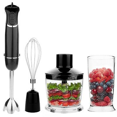 OXA Powerful 4-in-1 Hand Blender 300 W - Black