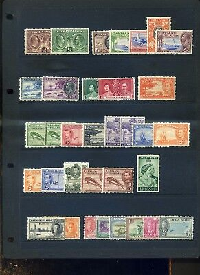 Cayman Islands mid period unchecked Mint collection assume MH
