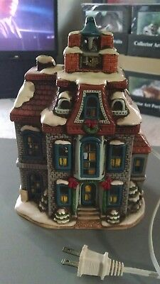 1987 Christmas Village Building By Lefton