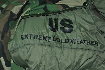 Extreme Cold Weather Military Army Sleeping Bag Bivy Cover Waterproof Lot 10-100