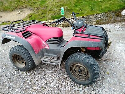 Can-am Bombardier 4x4 quad