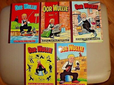 Oor Wullie - 1980s - Complete Set, great condition!