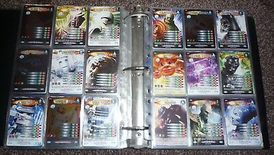 Dr Doctor Who Battles in Time Ultimate Monsters COMPLETE set MINT