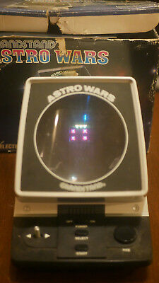 Grandstand Astro Wars - Collectable Retro Gaming Tabletop Arcade Game 1981 Works