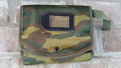 Russian Army travel bag military FLORA OTK Army stamp 2009 with name tag